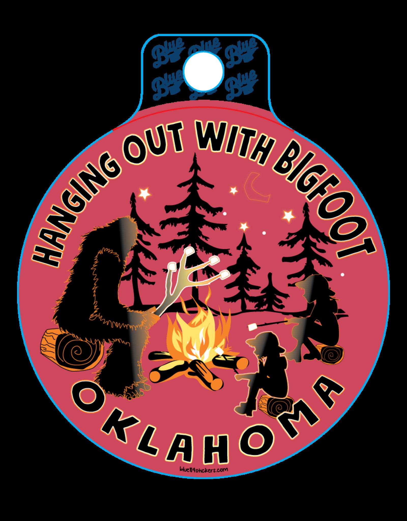 Blue 84 Blue 84 Bigfoot Sticker