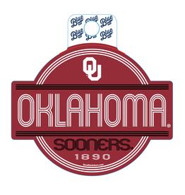 Blue 84 Blue 84 Oklahoma Fun Stripes Sticker