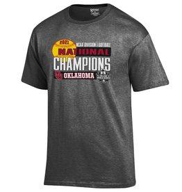 Gear For Sports 2021 OU Softball National Champions Lockerroom Tee