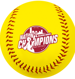 Baden 2021 National Champions Commemorative Softball