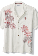 Tommy Bahama Men's OU La Playa Luau Camp Shirt