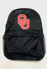 Forever Collectibles Oklahoma Black Big Logo Backpack
