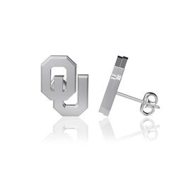 Dayna U OU Sterling Silver Post Earrings