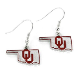 Aminco OU State Design Earrings