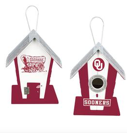 Hanna's Handiworks Oklahoma OU Birdhouse