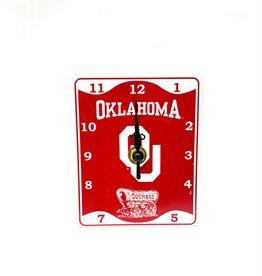 Hanna's Handiworks Oklahoma Metal Desk Clock