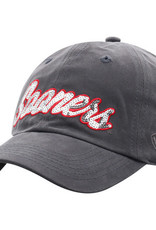 Top of the World Women's TOW Sooners Sequential Charcoal Gray Adjustable Hat