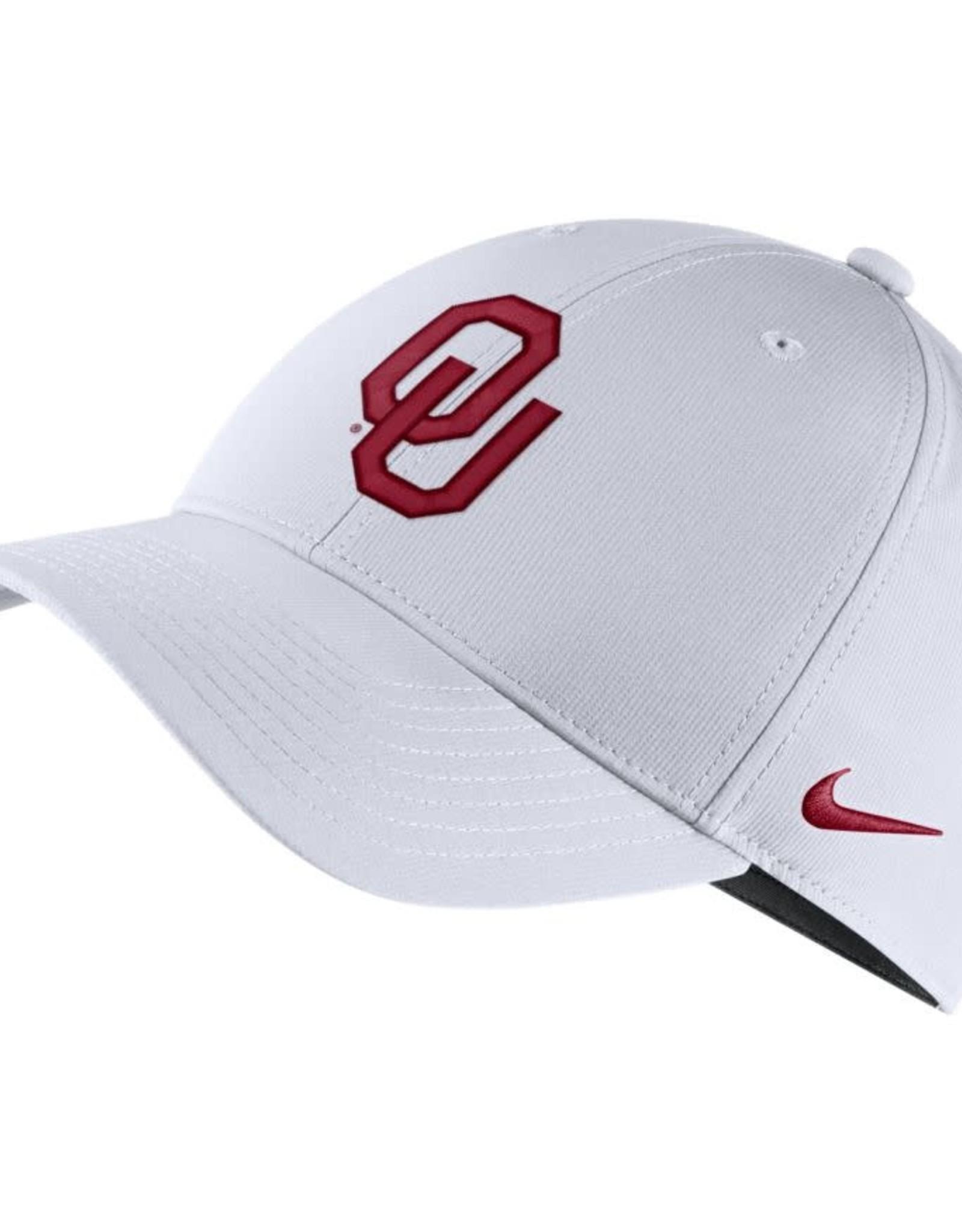 Nike Nike White OU Legacy91 Adjustable Cap