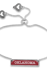 FTH FTH Oklahoma Dainty Nameplate Cuff Bracelet