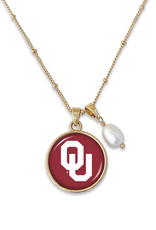 FTH FTH OU Pearl Diana Necklace Gold