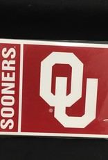 The Fanatic Group OU Sooners Note Cards 10pk with envelopes