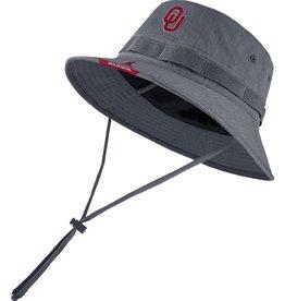 Jordan Men's Jordan 2021 Flint Gray OU Dri-Fit Sideline Bucket Hat