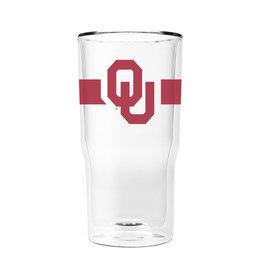 GameTime Sidekicks Oklahoma 16oz. Glass - 2 Pack