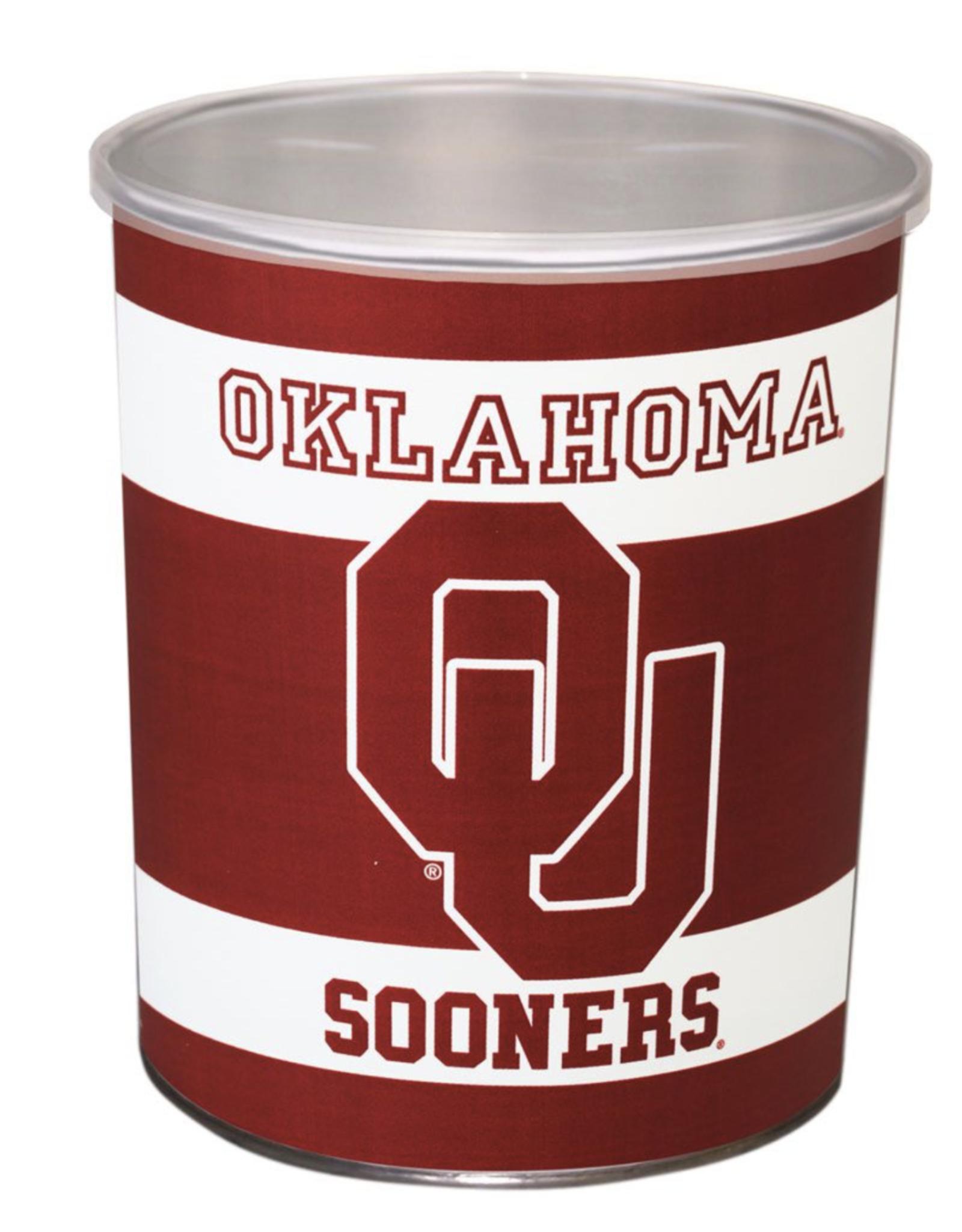 WinCraft Oklahoma Sooners 1 Gallon Gift Tin