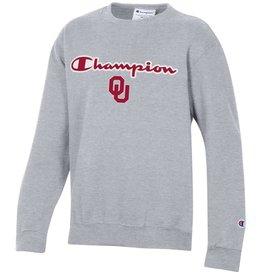 Champion Youth Champion Co-Brand OU Sweatshirt