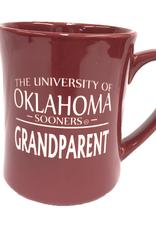 RFSJ 16oz Ceramic Etched Oklahoma Sooners Grandparent Mug