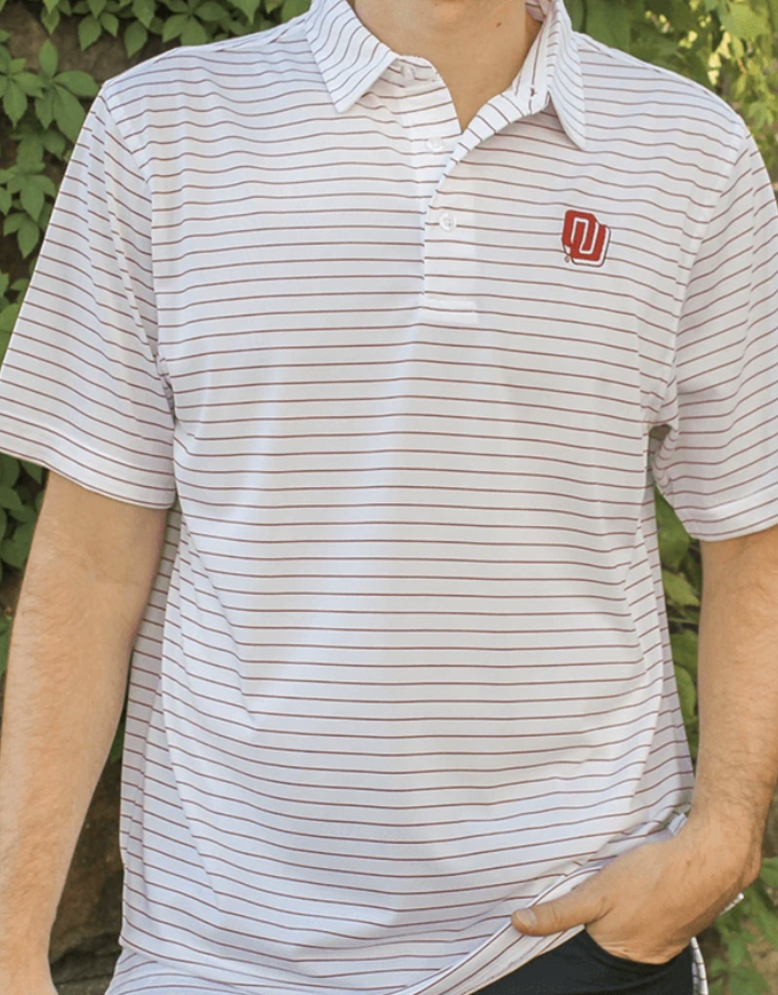 Red & West Men's Game of the Century Gameday Polo