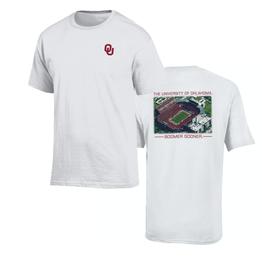 Gear For Sports Gear Men's White Oklahoma Stadium Tee