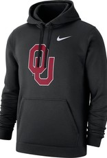 Nike Men's Nike Black OU Pullover Club Fleece Hoodie