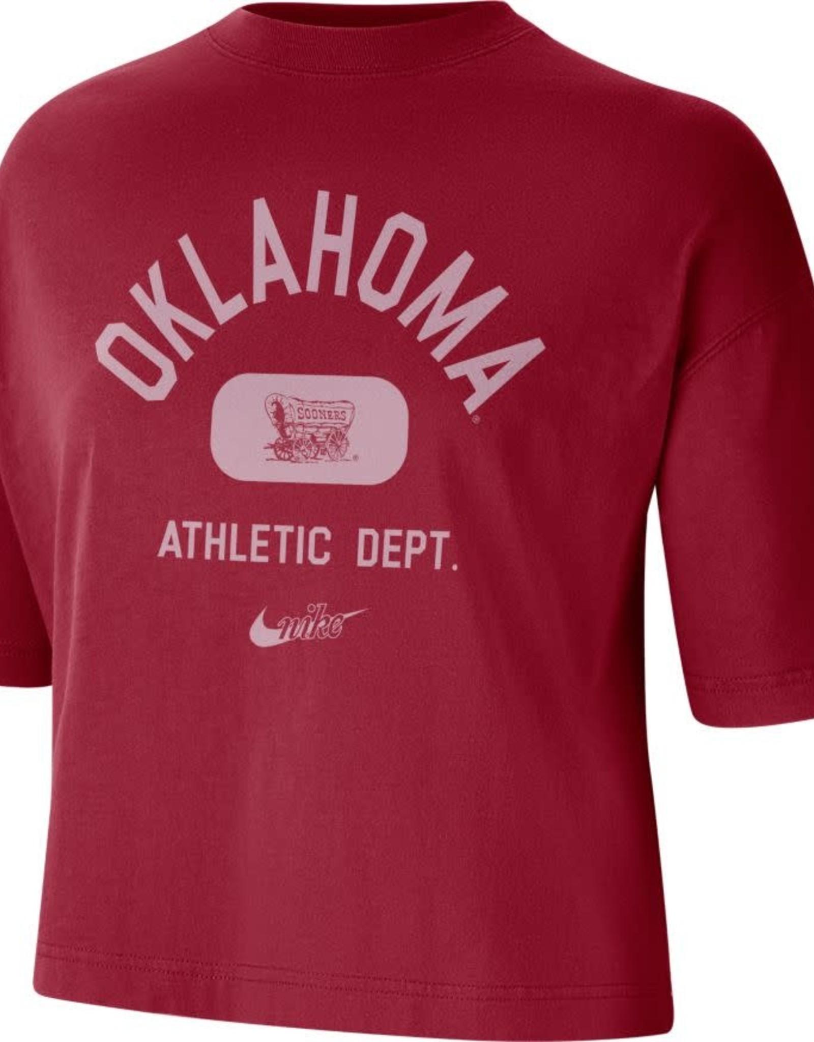 Nike Women's Nike Crimson Oklahoma Boxy Tee