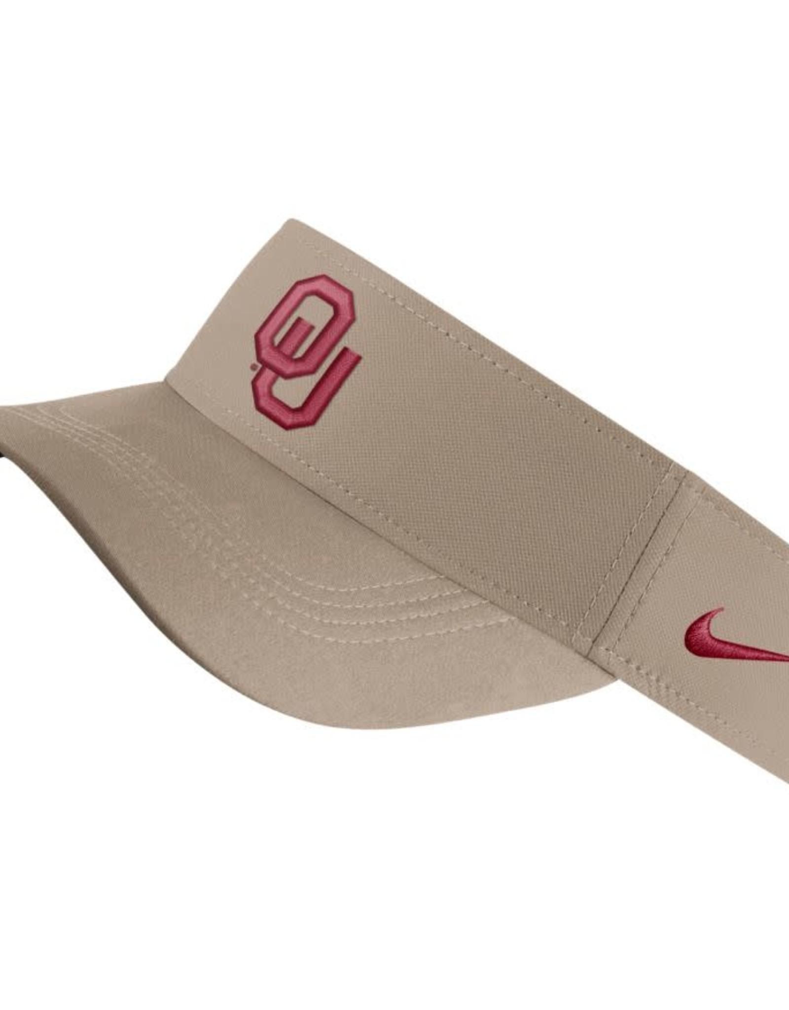 Nike Nike Khaki OU Dri-Fit Visor