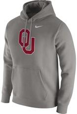 Nike Men's Nike OU Grey Pull-over Club Fleece Hoodie