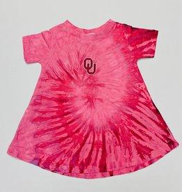 Two Feet Ahead Toddler OU Tie Dye Dress