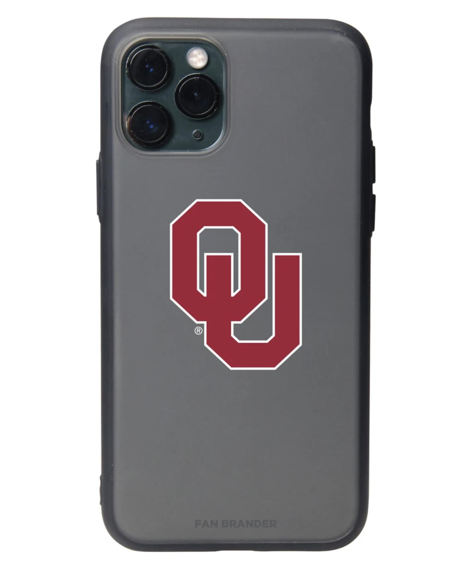 Fan Brander iPhone 12 Pro Max OU Black Slate Case