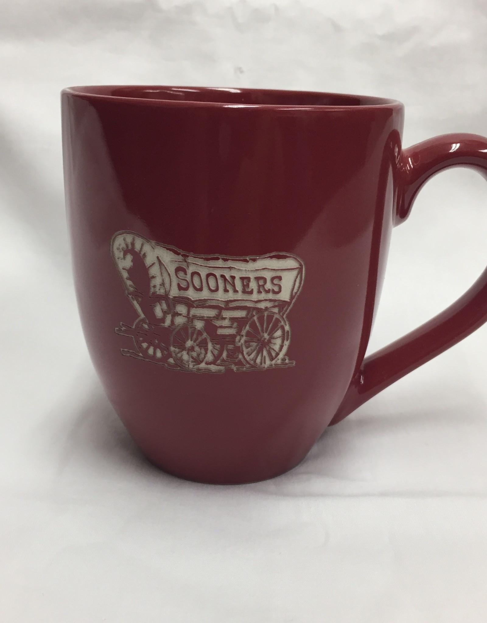 LXG 16oz Schooner Bistro Mug Cardinal