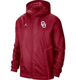 Jordan Men's Jordan Crimson OU Woven Full-zip Jacket
