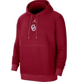Jordan Men's Jordan OU Crimson Fleece Practice Hoodie