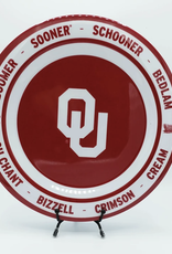 Traditions Forever Limited Edition OU Sooner Tailgate Plate Set (Set of 4)