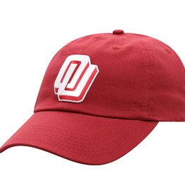 Top of the World Men's OU Slant OU Patch Hat