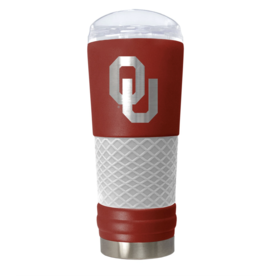 Great American Products Oklahoma Sooners 24oz Draft Tumbler