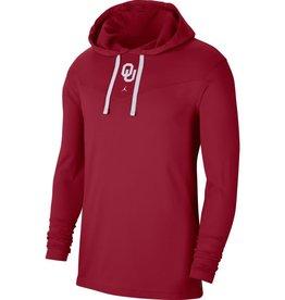 Jordan Men's Jordan OU Crimson Tri-Blend Hoodie Top