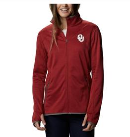 Columbia Columbia Women's OU Sapphire Trail Full Zip Jacket
