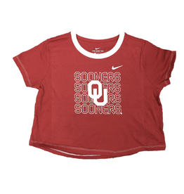 Nike Youth Girls Cropped SS Tee