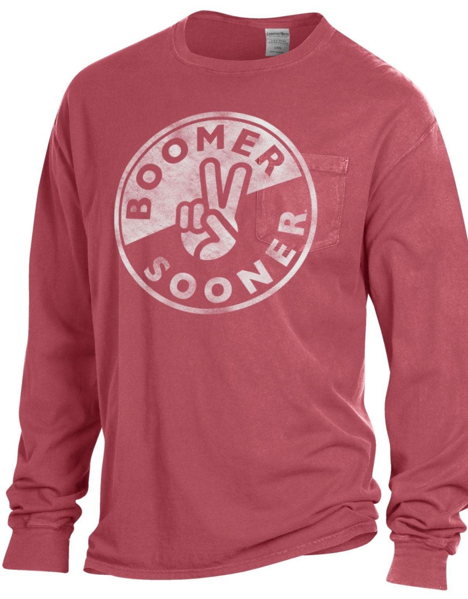 Gear For Sports Men's Boomer Sooner Peace Comfort Colors Tee