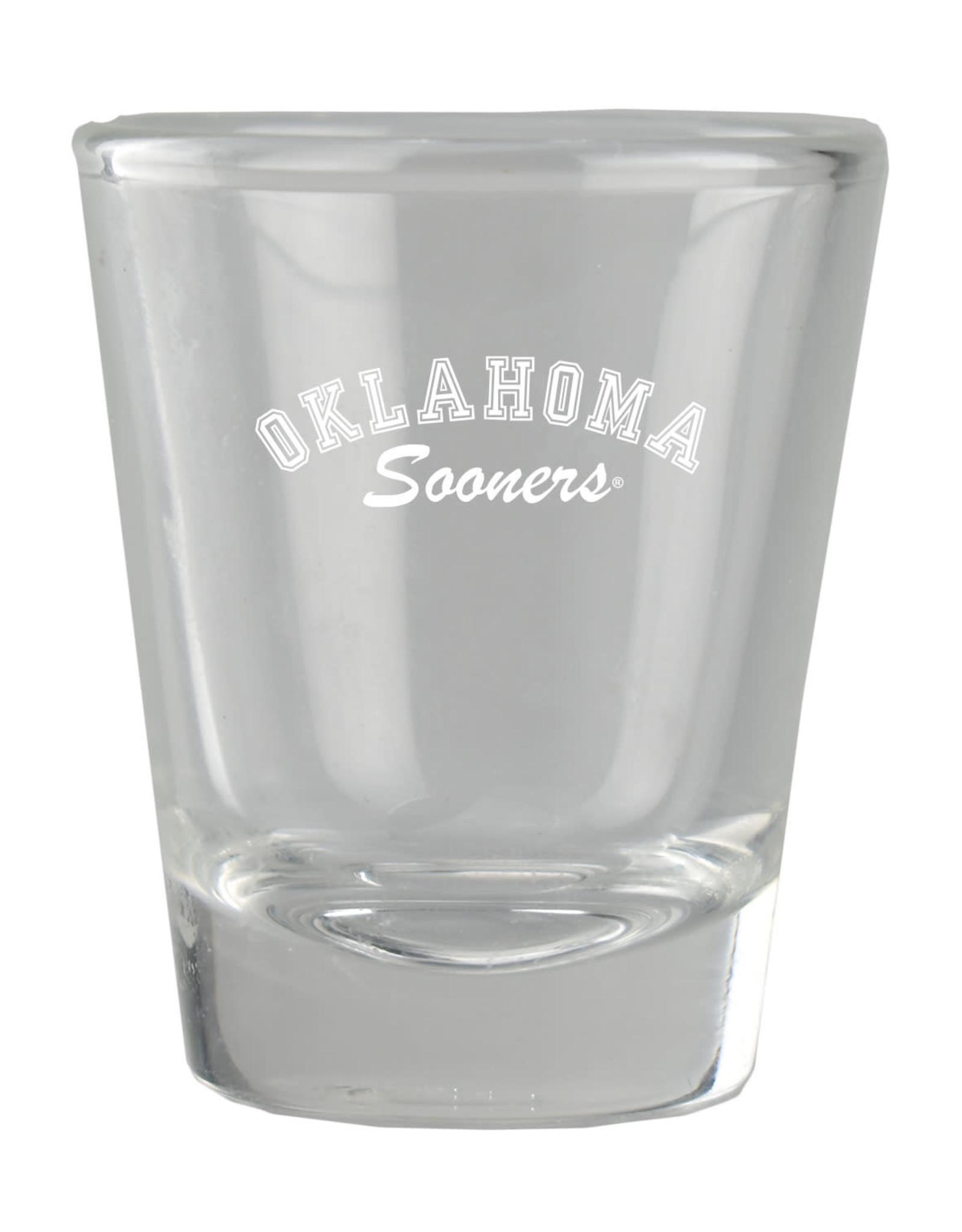 LXG Etched Oklahoma Sooners 1.5oz Shot