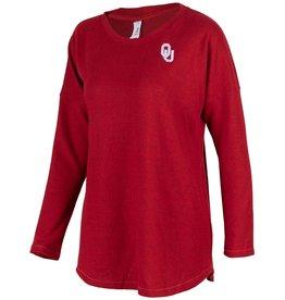 ZooZatz Women's ZooZatz Crimson OU Tunic Sweater
