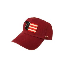 '47 Brand '47 Brand Operation Hat Trick Oklahoma US Flag Hat