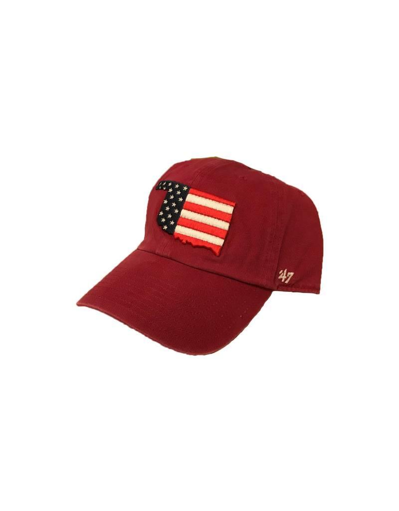 '47 Brand '47 Brand Operation Hat Trick Oklahoma US Flag Hat