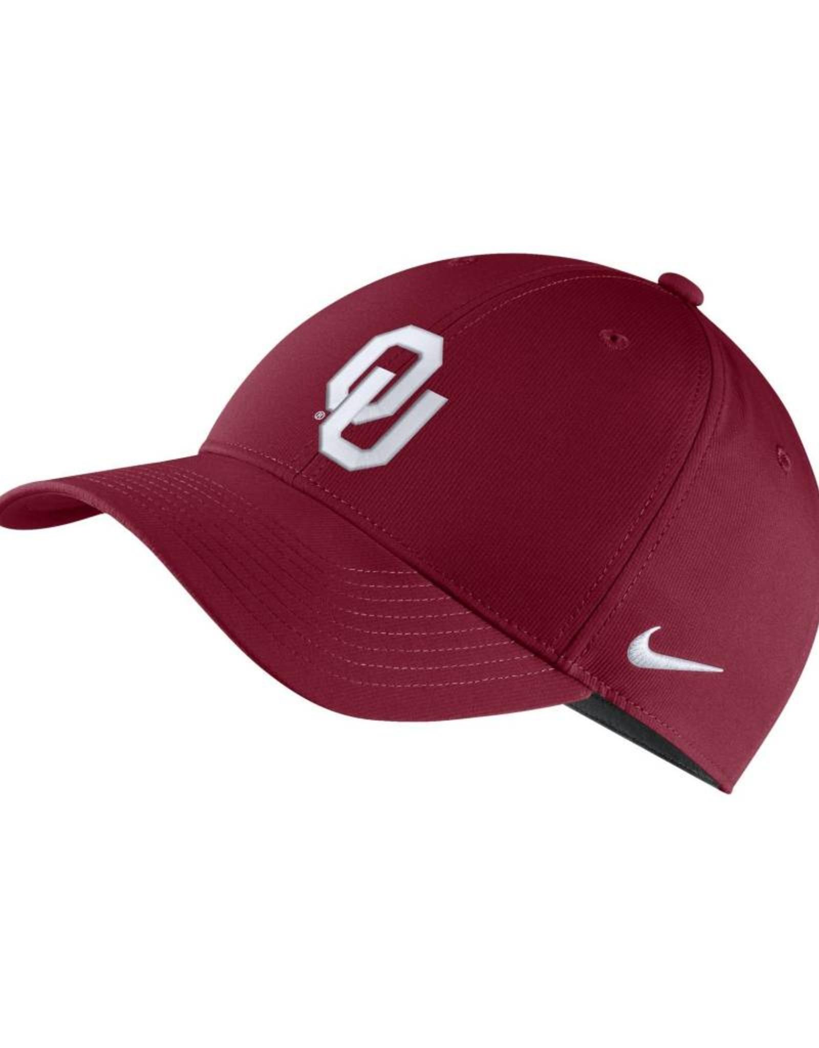 Nike Nike OU DriFIT Legacy91 Adjustable Hat in Crimson