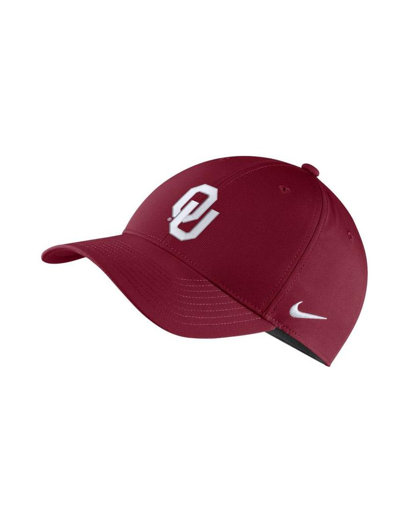 Nike Nike OU DriFIT Legacy91 Adjustable Hat in Crimson