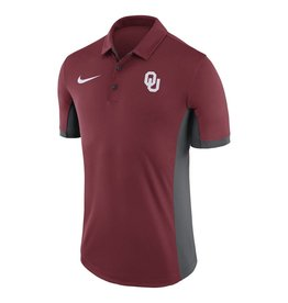 Nike Men's Nike Crimson OU Sooners Evergreen Performance Polo