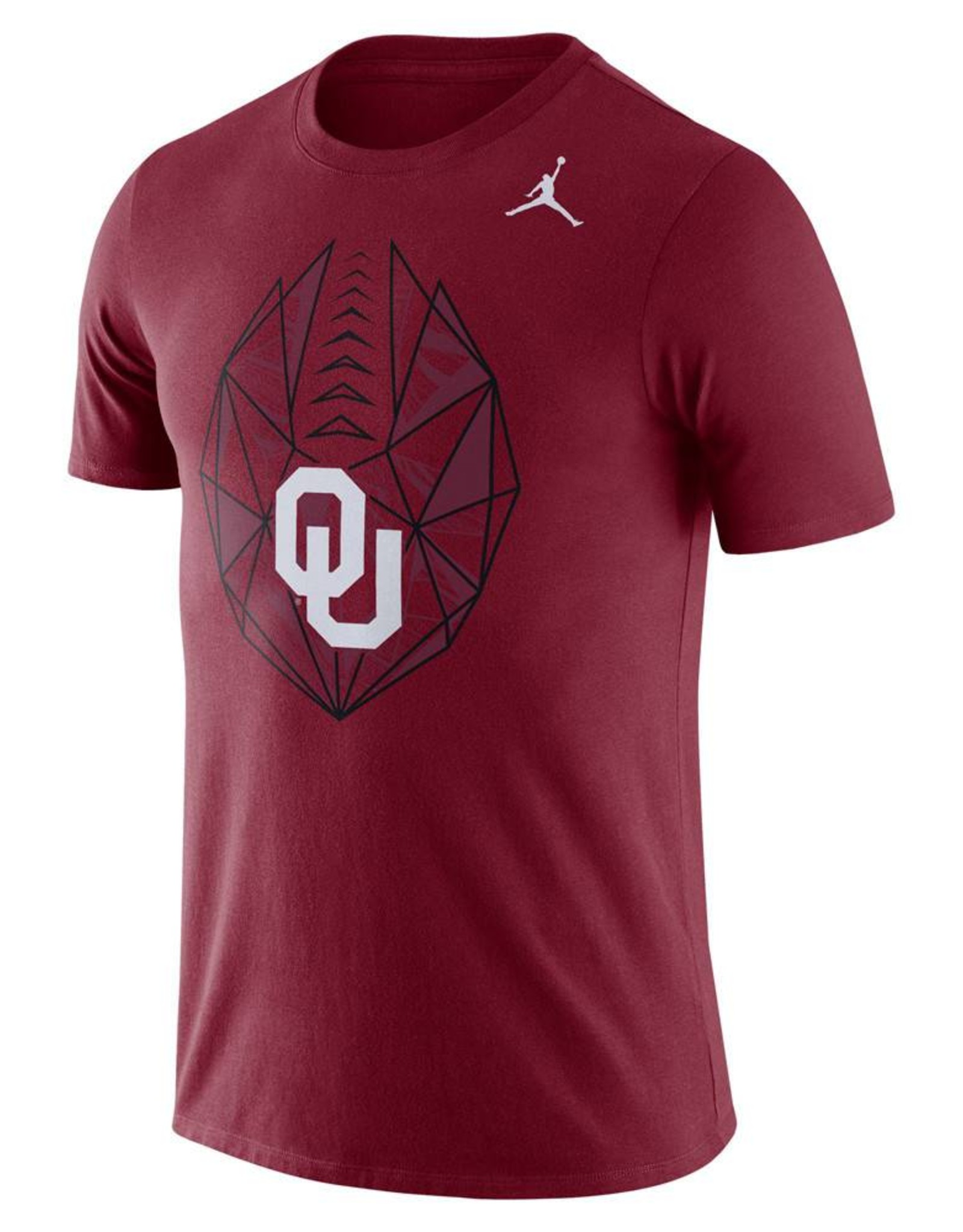 Jordan Men's Jordan Brand Dri-Fit Oklahoma Football Icon Tee