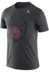 Jordan Men's Jordan Brand Dri-Fit Oklahoma Football Icon Tee