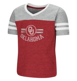 Colosseum Toddler Girl's Oklahoma Pee Wee Football Tee