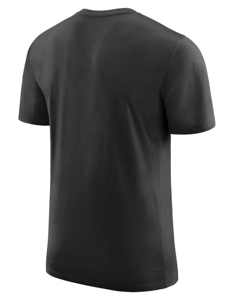 Nike Men's Nike DriFit Cotton DNA Tee in Black