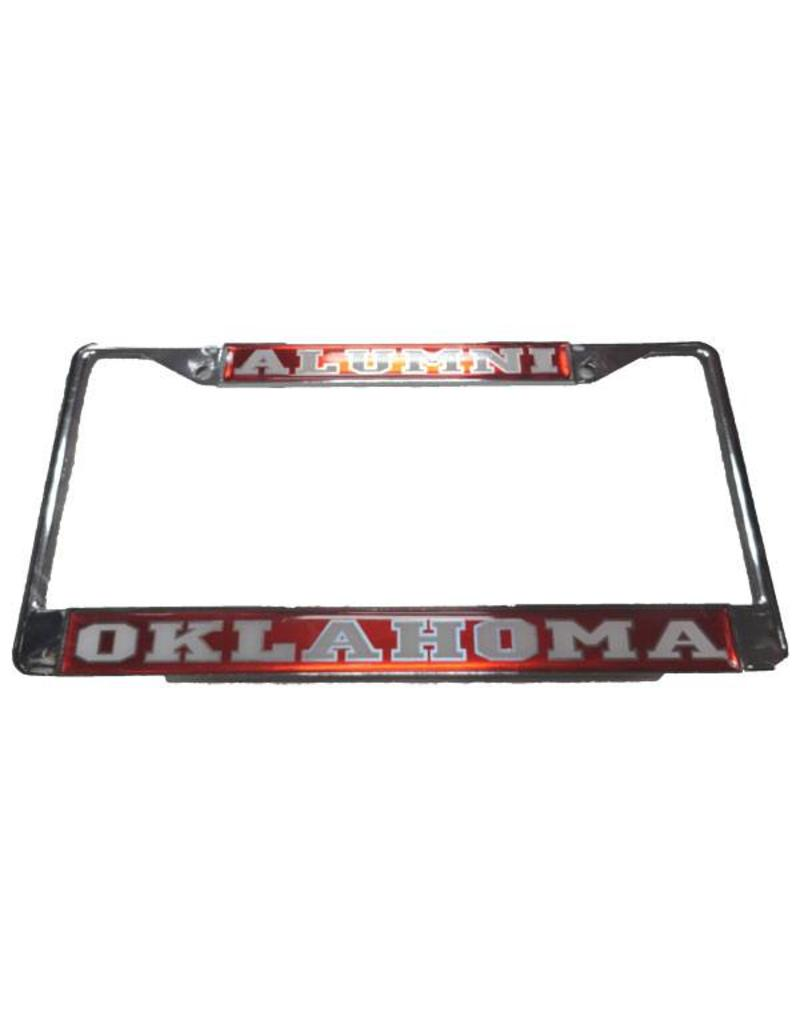 Craftique Craftique Alumni/Oklahoma White/Crimson License Frame